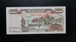 CAMBODGE / CAMBODIA/ 1000 Riels 1999 Specimen UNC - Cambodia