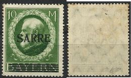 SARRE SAAR N° 31 Neuf Avec Charnière De 1920 - 1920-35 League Of Nations