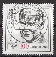 Germania 1996 Sc. 1916  Friedrich Von Bodelschwingh  Protestant Theologian Germany Used - Teologi