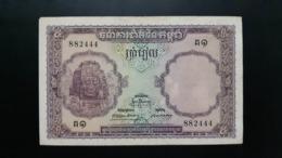 CAMBODGE / CAMBODIA/ 5 Riels 1953 - Cambogia