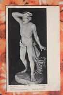 Hermitage  -RUSSIA DUPRE Cain Vintage St.Eugenie Postcard - Art  - Carte CROIX ROUGE  - St Eugenia  - Sculpture - Russland