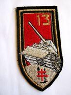 ECUSSON TISSUS PATCH ARTILLERIE LE 13° RA ETAT EXCELLENT - Armée De Terre