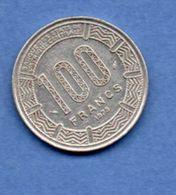 Cameroun   -- 100 Francs 1975  --  Km #17  --  état  TTB - Cameroon