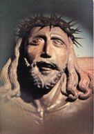 Soriano Nel Cimino VT - Santino Cartolina CROCIFISSO, Scultura Di P. Sisto Passionista Santuario S. Eutizio M. - P21 - Religione & Esoterismo