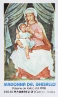 Madonna Del Ghisallo,  Santino  Con Preghiera - Religion & Esotérisme