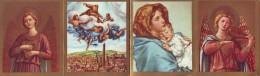 Calendarietto Pieghevole  Anno 1966 Soggetti Religiosi - Calendars