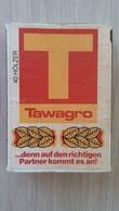 Zündholzschachtel Mit TAWAGRO-Werbung (Deutschland) - Zündholzschachteln