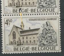 1832 Curiosité Avec Un Normal  Geraadsbergen - Abarten Und Kuriositäten