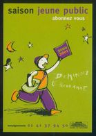 Francia. 92-Nanterre. *Saison Jeune Public 2000-2001* Imp. Cart'Com. Nueva. - Otros