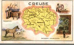 CHROMO  LES PASTILLES SALMON DEPARTEMENT LA CREUSE - Trade Cards