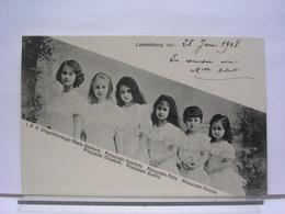 LUXEMBOURG - FAMILLE DUCALE - ERBGROSSHERZOGIN ET PRINZESSIN - 1908 - Koninklijke Familie