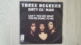 Three Degrees - Dirty Ol'Man - Vinyl-Single - Disco, Pop