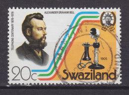 Swaziland 1976 Mi. 265      20 C. Telefon Telephone Alexander Graham Bell - Swaziland (1968-...)