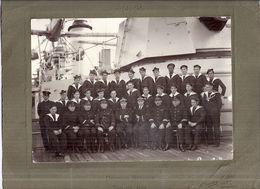 CROISEUR SUFFREN   TOULON 1932  PHOTo DE L'EQUIPAGE  PH. TOURTE ET PETITIN  LEVALLOIS - Guerre, Militaire