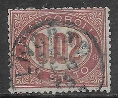 Italia Italy 1875 Regno Servizio Di Stato L0.02 Sa N.SE1 US - Servizi