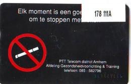 Telefoonkaart  LANDIS&GYR  NEDERLAND * RCZ.178   111A * Stoppen Met Roken *  TK * ONGEBRUIKT * MINT - Nederland