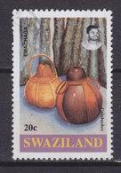 Swaziland 1993 Mi. 620      20 C. Kunsthandwerk Kalebassen - Swaziland (1968-...)