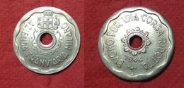 TOKEN JETON GETTONE TRASPORTI TRANSIT AZIENDA TRANVIARIA MILANO 1944 FASCISMO ZECCA J. - Monetary/Of Necessity