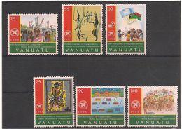 VANUATU  Année 1995 Anniversaire Indépendance N° Y/T :989/94** - Vanuatu (1980-...)