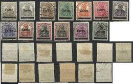 SARRE SAAR Entre Les N° 1 à 15 Oblitérés Ou Neufs Avec Charnière De 1920 - 1920-35 League Of Nations