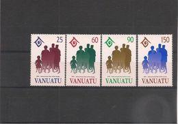 VANUATU  Année 1994 Année Internationale De La Famille N° Y/T : 947/50** - Vanuatu (1980-...)
