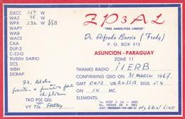 CARTOLINA - POSTCARD - PARAGUAY - RADIO AMATORI ASUNCION - Paraguay