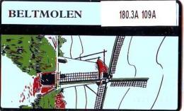 Telefoonkaart  LANDIS&GYR  NEDERLAND * RCZ.180.3A   109A * MOLEN  * Beltmolen *  TK * ONGEBRUIKT * MINT - Privé