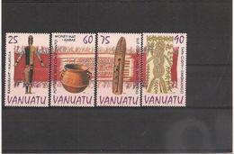 VANUATU  Année 1995 Artisanat N° Y/T : 985/88** - Vanuatu (1980-...)