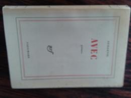 """Eugène GUILLEVIC    Poème """"AVEC  Autographe, Edition Numérotés N°2100 - Livres, BD, Revues"""