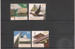 VANUATU  Année 1997 Architecture N° Y/T : 1043/46** - Vanuatu (1980-...)
