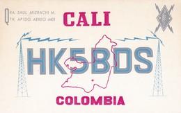 CARTOLINA - POSTCARD - COLOMBIA - RADIO AMATORI CALI - Colombia