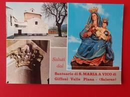 Giffoni Valle Piana Salerno  Non Viaggiata - Salerno