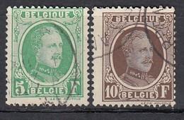 BELGIEN 1926 - MiNr: 216+217 Used - Belgien