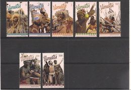 VANUATU  Année 1999 Danses Typiques N° Y/T : 1073/79** - Vanuatu (1980-...)