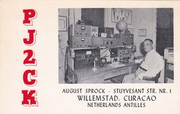 CARTOLINA - POSTCARD - CURACAO NETHERLANDS ANTILLES - RADIO AMATORI WILLEMSTAD - Postcards
