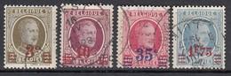 BELGIEN 1927 - MiNr: 223-226 Komplett Used - Belgien