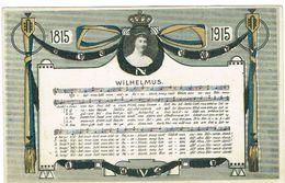 Luxembourg 1815/1915 Wilhelmus. - Ansichtskarten