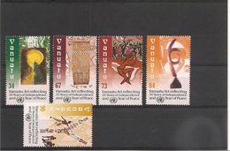 VANUATU  Année 2000 Anniversaire Indépendance N° Y/T : 1084/88** - Vanuatu (1980-...)