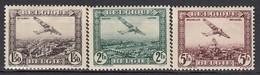 BELGIEN 1930 - MiNr: 281-283   */MH - Belgien