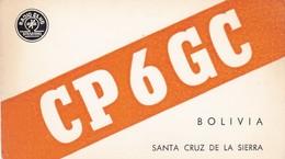CARTOLINA - POSTCARD - BOLIVIA - RADIO AMATORI SANTA CRUZ DE LA SIERRA - Bolivia