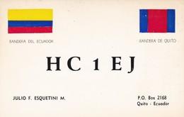 CARTOLINA - POSTCARD - ECUADOR - RADIO AMATORI QUITO - Ecuador