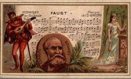 CHROMO FAUST MUSIQUE DE CHARLES GOUNOT - Trade Cards