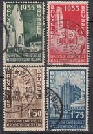BELGIEN 1934 - MiNr: 378-381 Komplett Used - Belgien