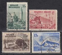 BELGIEN 1938 - MiNr: 482-485  Komplett Used - Belgien