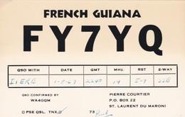 CARTOLINA - POSTCARD - FRENCH GUIANA - GUYANA FRANCESE - RADIO AMATORI - Cartoline