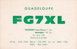 CARTOLINA - POSTCARD - GUADELOUPE - RADIO AMATORI - Cartoline