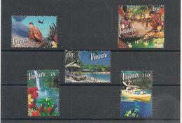 VANUATU  Année 2002 Tourisme N° Y/T : 1121/25** - Vanuatu (1980-...)