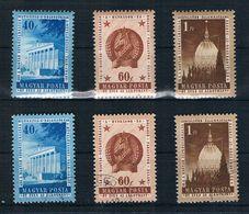 Ungarn Michel Nr. 1384 - 1386 Postfrisch Und Gestempelt - Hungary