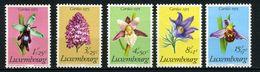 LUXEMBOURG    Fleurs Protégées   N° Y&T  864 à 868  ** - Luxembourg
