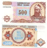 Azerbaijan - 500 Manat 1999 UNC Serie CB Ukr-OP - Azerbaïjan